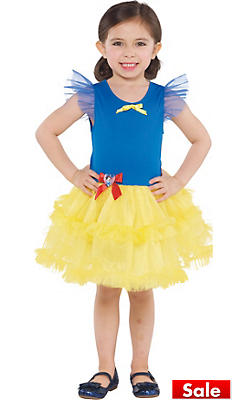 Girls Tutu Snow White Dress