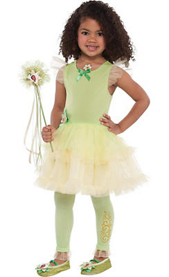 Girls Tutu Princess Tiana Dress