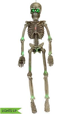 Light-Up Hanging Skeleton