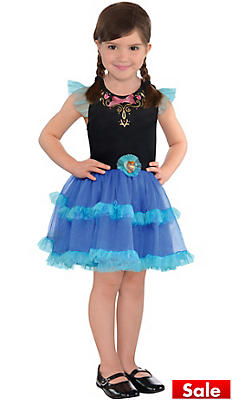 Girls Tutu Anna Dress - Frozen