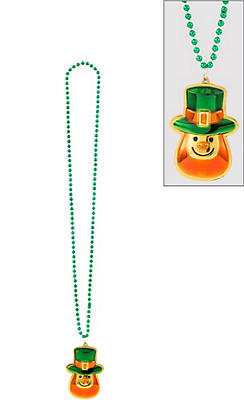 Leprechaun Pendant Necklace