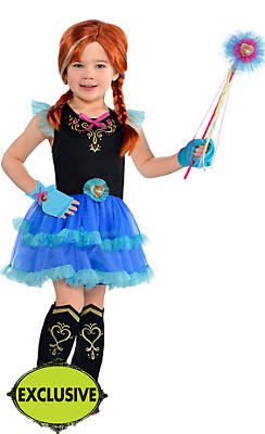 Girls Tutu Anna Costume - Frozen