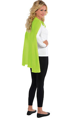 Neon Yellow Cape