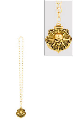 Compass Medallion Pirate Necklace