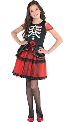 Girls Day of the Dead Dress