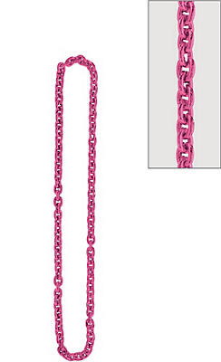 Pink Chain Link Necklace
