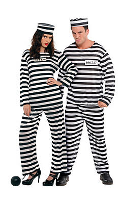 Prisoner Couples Costumes