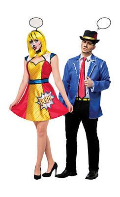 Pop Art Couples Costumes