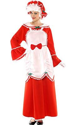 Adult Mrs. Claus Costume