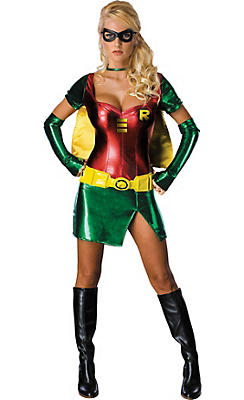 Adult Sexy Robin Costume - Batman