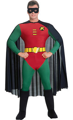 Adult Robin Costume Deluxe - Batman