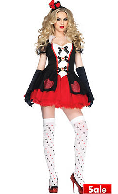 Adult Enchanted Queen of Hearts Costume