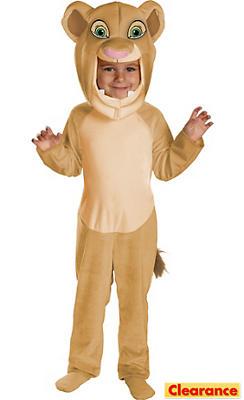 Toddler Girls Nala Costume - The Lion King
