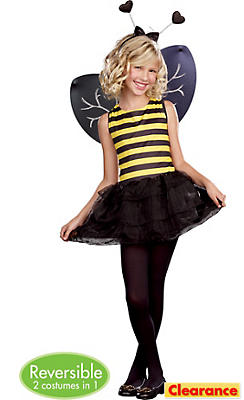 Girls Going Buggy Reversible Costume