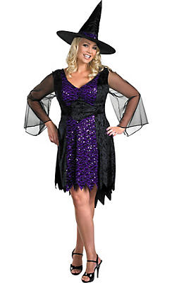 Adult Brilliantly Bewitched Costume Plus Size
