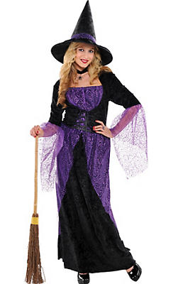 Teen Girls Pretty Potion Witch Costume