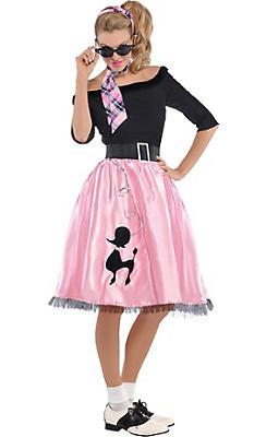 Adult Sock Hop Sweetie 50's Costume