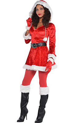 Adult Sassy Red Santa Costume