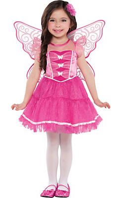 Toddler Girls Butterfly Kisses Costume