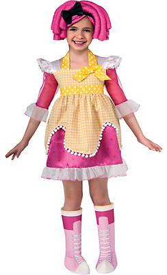 Toddler Girls Crumbs Sugar Costume - Lalaloopsy