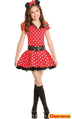 Teen Girls Miss Mouse Costume