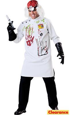 Adult Crazy Scientist Costume