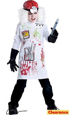 Boys Mad Scientist Costume