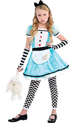 Girls Wonderful Alice Costume