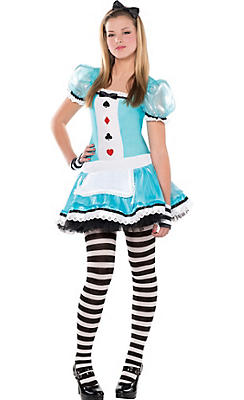 Teen Girls Clever Alice Costume