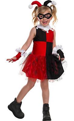 Little Girls Harley Quinn Costume - Batman