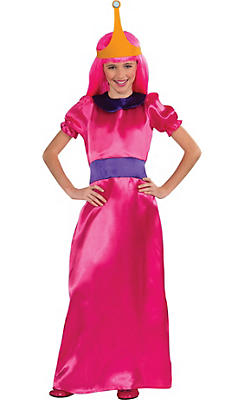 Girls Princess Bubblegum Costume - Adventure Time