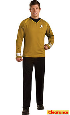 Adult Captain Kirk Costume Grand Heritage - Star Trek 2