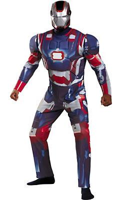 Adult Iron Patriot Costume Deluxe