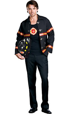 Adult Smokin' Hot Fireman Costume