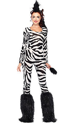 Adult Wild Zebra Costume
