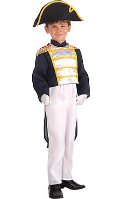 Boys Colonial General Costume