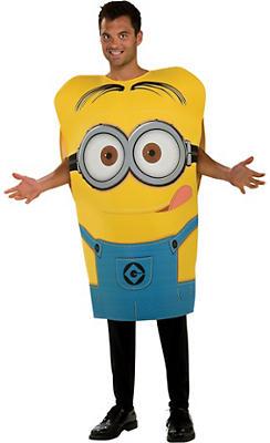 Adult Minion Dave Tunic Costume - Despicable Me 2