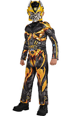 Little Boys Bumblebee Muscle Costume - Transformers 4