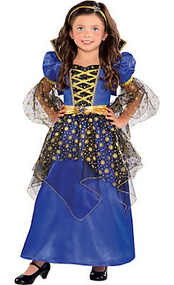 Girls Enchanted Stars Princess Costume