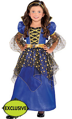 Girls Enchanted Stars Princess Costume