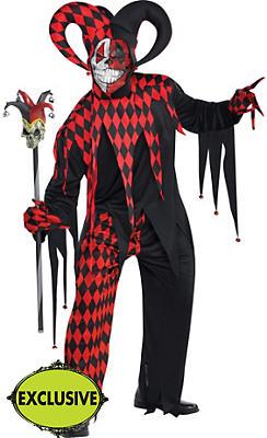 Adult Krazed Jester Costume
