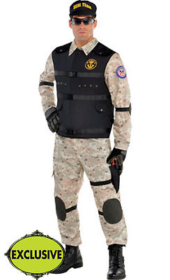 Adult SEAL Team Hero Costume