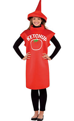 Adult Ketchup Costume Classic