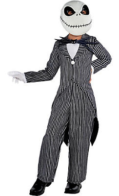 Boys Jack Skellington Costume - The Nightmare Before Christmas