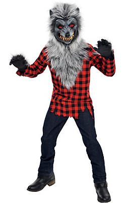 quick shop boys hungry howler werewolf costume - Halloween Costumes Wolf