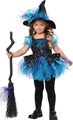 Toddler Girls Darling Little Witch Costume