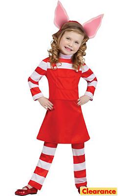 Toddler Girls Olivia the Piglet Costume