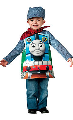 Boys Thomas Engineer Costume Deluxe - Thomas & Friends
