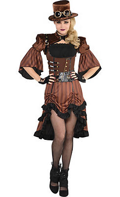 Adult Steamy Dreamy Steampunk Costume