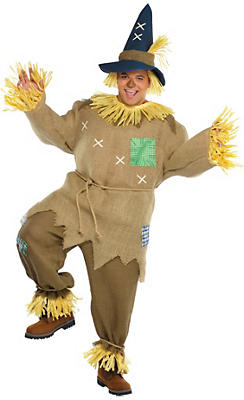 Adult Mr. Scarecrow Costume Plus Size